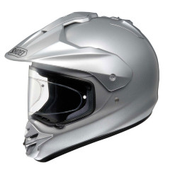 SHOEI Шлем HORNET-DS CANDY LIGHT SILVER