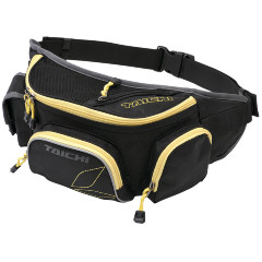RS TAICHI Сумка WAIST BAG.3 BLACK/YELLOW