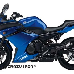 [CRAZY IRON] Слайдеры для Yamaha XJ6F Diversion/ FZ6R 2009-2014