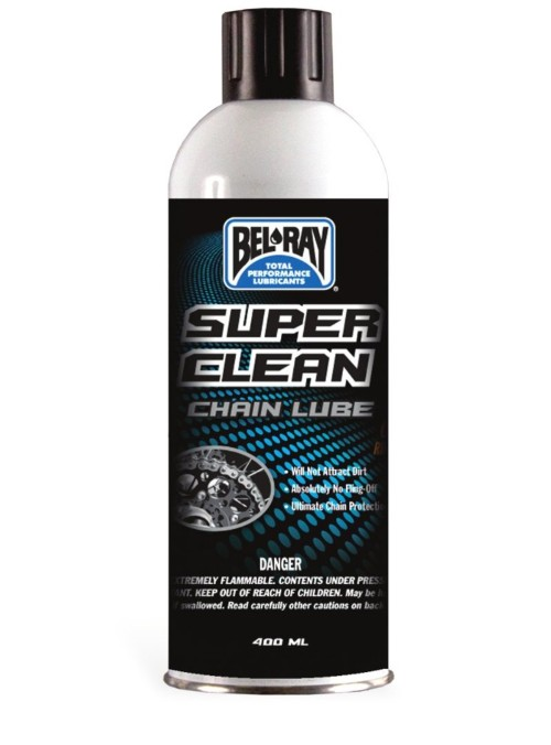 [BEL-RAY] Смазка для цепи Super Clean Chain Lube 400мл