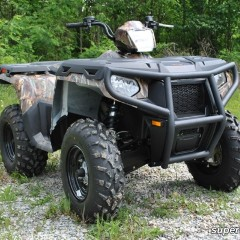 Передний бампер SuperATV для Polaris Sportsman 500-800 (2011+) FB-P-SPT11
