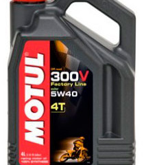 MOTUL Масло 300V 4T OffRoad SAE 5W40 4л